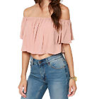 Fashion Sexy Women Strapless Short Crop Tops All-match Pleated Off Shoulder Tops