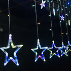 2.5M 168 LED Curtain Star String Colorful For Wedding Birthday Romantic Party