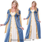 CL158 Elegant Empress Medieval Maid Marion Renaissance Fancy Dress Up Costume