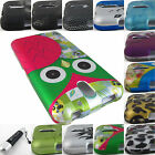 FOR HTC DESIRE 510 610 816 626 626s GRAPHIC DESIGN SNAP-ON CASE COVERS+STYLUS