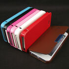Luxury Magnetic Front Flip PU Leather Hard Back Skin Cover Case for iPhone 5 5S