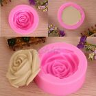 3D Rose Flower Fondant Cake Chocolate Sugarcraft Mold Cutter Silicone Tools 1pc