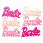 Kawaii Decoden Cute Embellishments Pink Barbie Resin Flat Back Cabochons