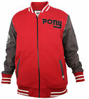 Pony New York Red Varsity Body Warmer Jacket Mens (PVBWJ2) R3