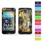For LG Optimus G Pro E980 Camo Mossy Oaks Hybrid Rugged Impact Phone Case Cover
