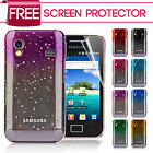 For Samsung Galaxy Ace S5830 3D Rain Drop Design Hard Case + Screen Protector