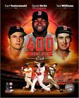 David Ortiz Ted Williams Carl Yastrzemski Boston Red Sox 400 HR Club Photo