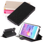For Samsung Galaxy Note 4 LUXURY Stand-in Wallet  Flip PU Leather Case Cover Hot