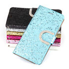 For Samsung Galaxy Note 4 LUXURY Glitter SLIM WALLET Flip Case Cover Hotest