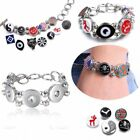 1Pc Animal Theme Genuine Snaps Chunk Charm Button Snap Jewelry Bracelet Necklace