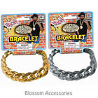A415 Big Link Bracelet Jewellery Gangster Pimp Rapper Costume Accessories