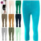 Womens Jogging 3/4 Length Gymming Running Ladies Jog Bottoms Trousers Leggings