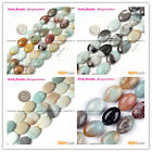 "Fashion Oval Multi-color Amazonite Gemstone Jewelry Making Beads 15"" Size Select"
