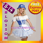 Lil Bo Peep Maid Fancy Dress Ladies Fairy Tales Costume