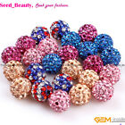 Pretty 10mm pave shining swarovski crystal ball jewelry making DIY beads10 Pcs