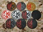 Captain America Old The Avengers S.H.I.E.L.D Red Skull 3D PVC Patch