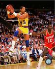 Mychal Thompson Los Angeles Lakers NBA Action Photo RL128 (Select Size)