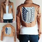 T9JC Attack On Titan Shingeki No Kyojin Scouting Legion Cosplay Costume Jacket