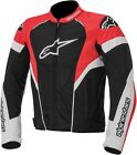 Alpinestars MENS T-GP Plus R Air Street Black/Red Jacket S-4XL
