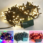 10M/100 20M/200 30M/300 LED Green Cable String Fairy Lights Christmas Wedding HS