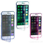 APPLE 4.7 iPhone 6 ULTRA THIN CLEAR WALLET FLIP TPU SILICONE SOFT GEL CASE COVER