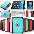 Magnetic Smart Case Cover + Ultra Slim Back Case Stand For APPLE iPad MINI 1/2/3