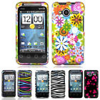 For HTC EVO Shift 4G A7373 Sprint Colorful Design Hard Case Snap On Cover