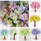 Artificial Craft Hydrangea Bouquet Home Wedding Fake Bridal Silk Flowers Popular