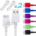 2x USB 3.0 Data Charger Cord Data Sync Cable for Samsung Galaxy S5 and Note 3