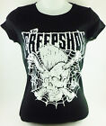 BLK THE CREEP SHOW BAND SKULL PUNK ROCKABILLY PSYCHOBILLY  T-SHIRT