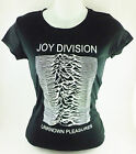 BLK JOY DIVISION UNKNOWN PLEASURES NEW ORDER ALTERNATIVE UK ROCK T-SHIRT