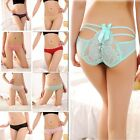 Sexy Lady Lace Thongs G-string Briefs Thongs Panties Knickers Lingerie Underwear
