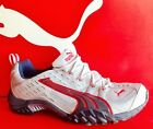 PUMA DARBY TRAIL RACER - Mens Running New Shoes - Gray/Navy/Red - 181766 18