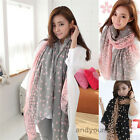 Fashion Women's Wrap Long Candy Colors Scarf Long Wraps Shawl Stole Soft Scarves