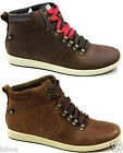 MENS CATERPILLAR CAT ROARKE LEATHER CASUAL OUTDOOR LACE UP ANKLE BOOTS SIZE 6-12