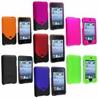 Color Snap-On Rubber Hard Case Cover for iPod Touch 3rd 2nd Gen 3G 2 3+Protector