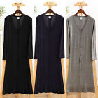 Applied Hot Casual Long Sleeve Cardigan Knit Knitwear Sweater Coat Outwear