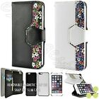 Floral Detachable Wallet Slim Case Cover for Apple iPhone 6 / iPhone 6 Plus