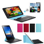 Hot Wireless Bluetooth Keyboard PU Leather Cover Case For 9 10 10.1 Tablet PC
