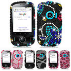 For Huawei M835 Metro PCS Colorful Design Bling Hard Case Cover Phone Accessory