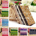 Series Assorted Pre-Cut Fat Quarters Bundle Charm Cotton Quilt Fabric Patchwork