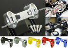 Handlebar Handle Bar Riser Clamp For 2013-2015 BMW R1200GS GSA ADV Water-Cooled