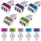3-Ports USB Car Charger Power Adapter for iPhone6 5S Samsung Note Edge S5 HTC LG