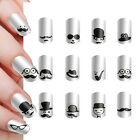 New Fashion 3D Mustache Nail Art Stickers Tips Manicure Decal DIY Decoration Hot
