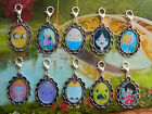 ADVENTURE TIME CLIP ON CHARM OR BRACELET FINN JAKE PRINCESS FIONNA MARCELINE