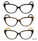 New Black Retro Cat Eye Fashion Wayfarers Designer Reading Glasses Women Readers
