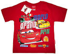 LIGHTNING McQUEEN boys short sleeve cotton summer t-shirt S-XL Age 3-7y FreeShip