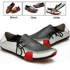 Casual Fashion Men Shoes Genuine Leather Driving Slip On Sneakers for Men Hot