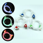 HOT! LED Light UP USB Data Sync Charger Cable For iphone4