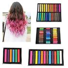 Non-toxic Temporary Hair Chalk Dye Soft Pastels Salon Kit Show Party 36 Colors